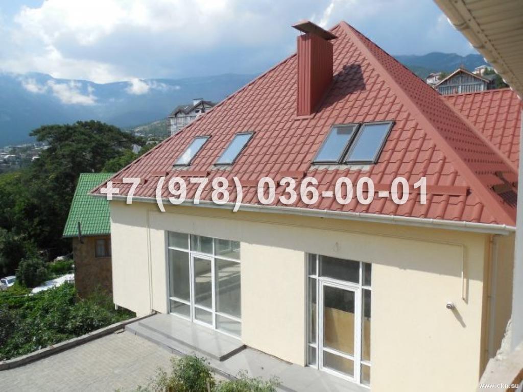 №1390 дом 270 м<sup>2</sup><br /> участок 4 сот.<br>Массандра